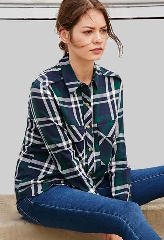 Plaid never goes out of style, as this Plaid Tartan Shirt from Forever21 demonstrates.