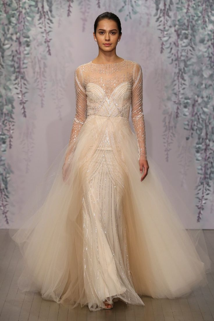 254 best monique lhuillier images on pinterest monique for Wedding dress monique lhuillier