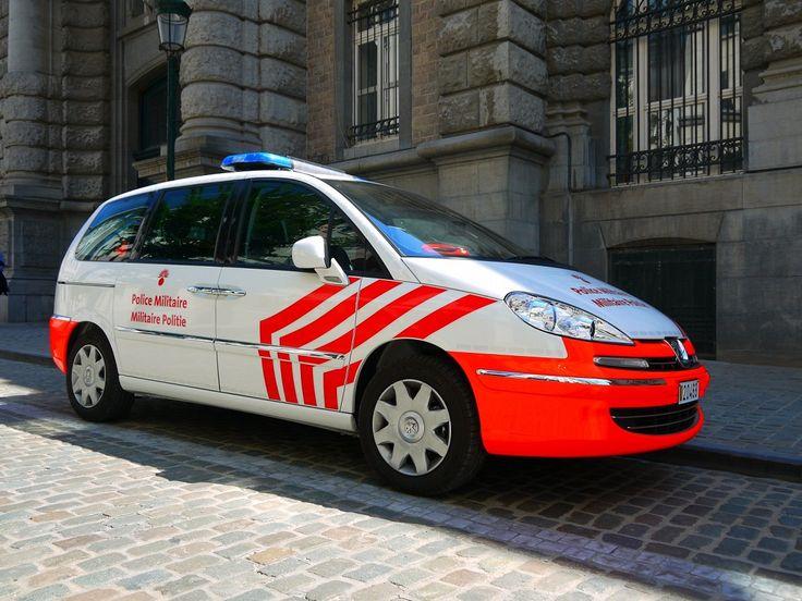 Peugeot 5008 - Militaire Politie - Police Militaire - Belgique