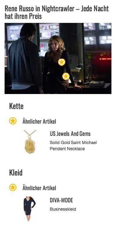 Jeder braucht jemanden, der auf einen aufpasst. So auch Nina Romina (gespielt von Rene Russo). In ihrem Fall handelt es sich um den Erzengel Michael, den sie in Form eines goldenen Anhängers an einer ebenfalls goldenen Kette um den Hals trägt.