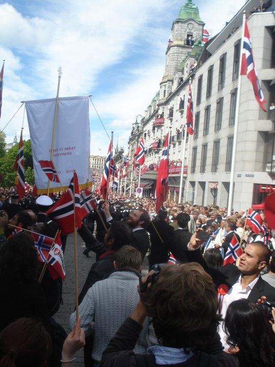 17th of may. the norwegian national day.  photo: katinka hellum.