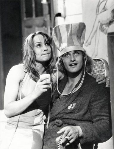 Rutger Hauer & Monique Van de Ven (Turks Fruit 1973) Paul Verhoeven. Photo Verenigde Nederlandsche Filmcompagnie.