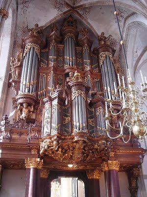 Grote Sint-Michaëlskerk Zwolle 1721 Schnitger Orgel