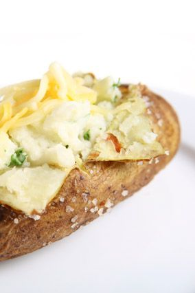 Veggie-Stuffed Twice-Baked Potato Boats