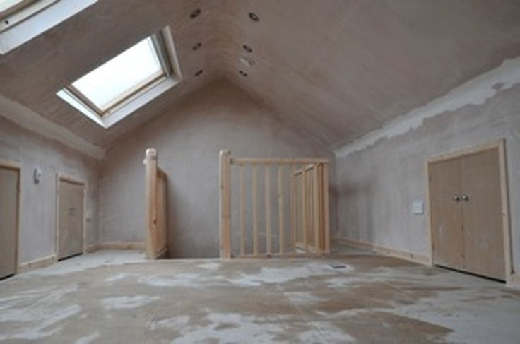 Attic Conversion Before And After Home Pinterest