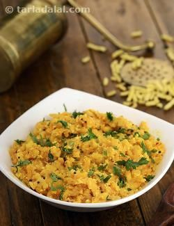Another popular Gujarati subzi, this ensures that you can place something interesting at the dinner table even when fresh vegetables are not available. Most households have ganthia in their pantry—even otherwise, it is readily available in stores these days. Ganthia subzi tastes great, can be prepared in just a jiffy with least effort.
