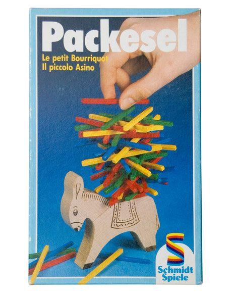 70er Spiel Packesel