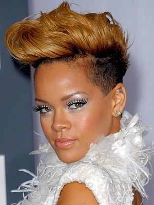 Swell 1000 Images About Rihanna39S Short Hairstyles On Pinterest Short Hairstyles Gunalazisus