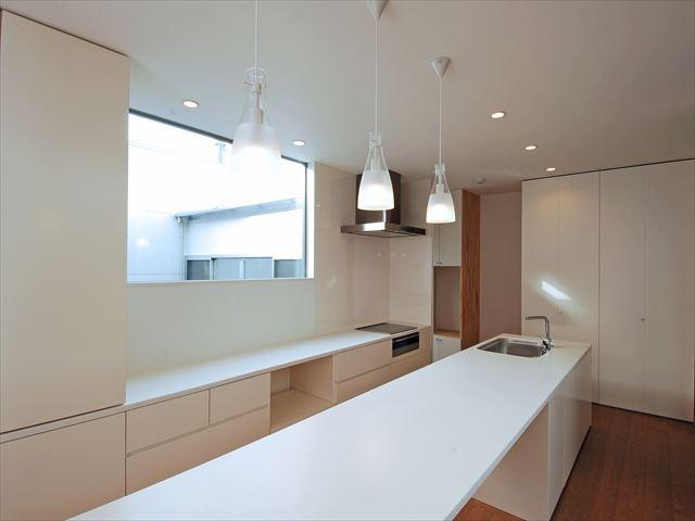 大口の家 キッチン