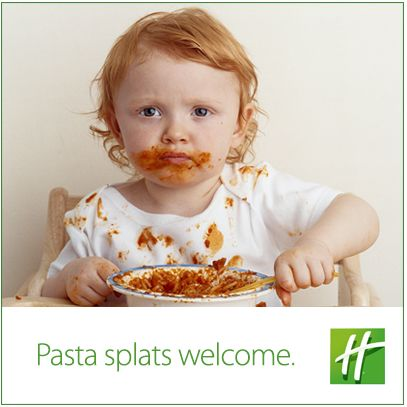 What meals get your kids the grubbiest? At Holiday Inn even the messiest eaters stay and eat for free!