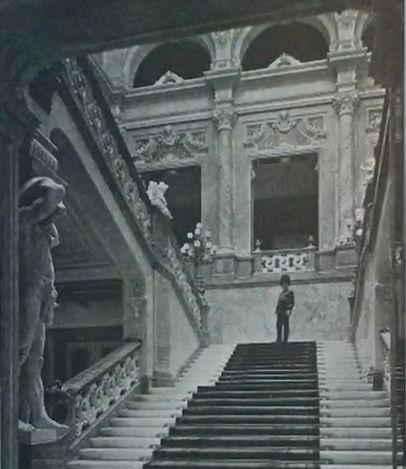 Budavári Palota - Főlépcsőház
