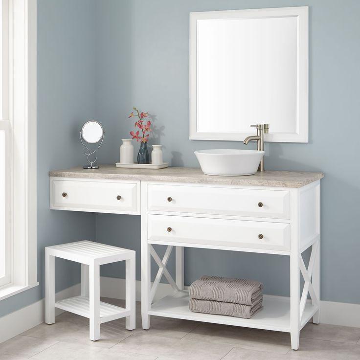 25 best vessel sink vanity ideas on pinterest for Vessel sink vanity ideas