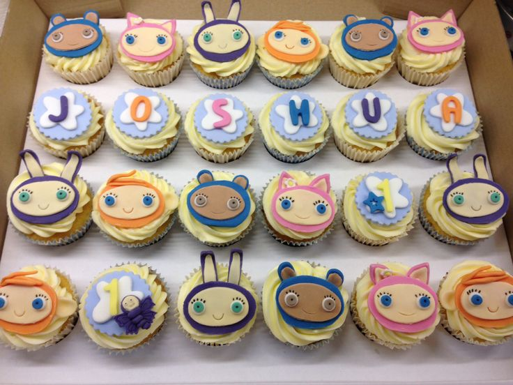 Joshua's Waybuloo cakes!