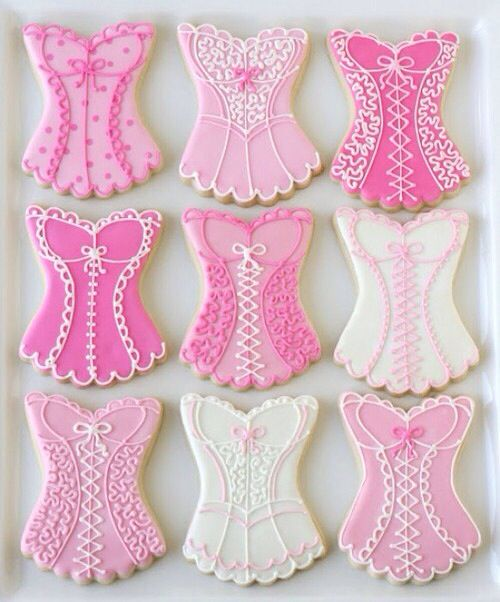 Pink cookies | Icing Cookies | Pinterest