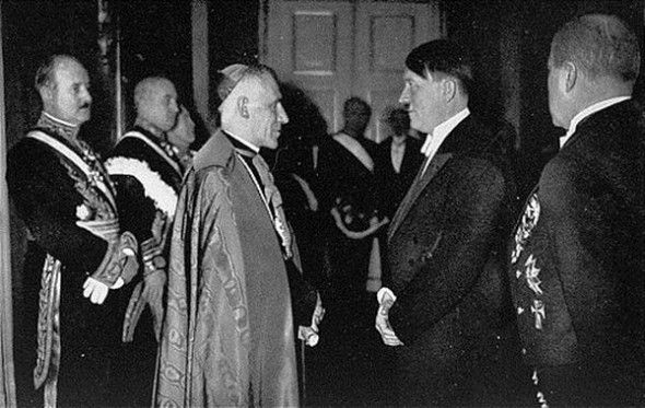 Adolf Hitler Meeting with Pope Pius XI