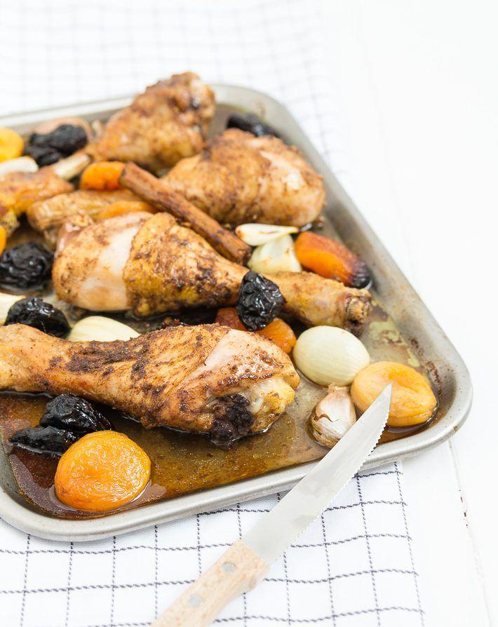 kip met ras el hanout #chicken