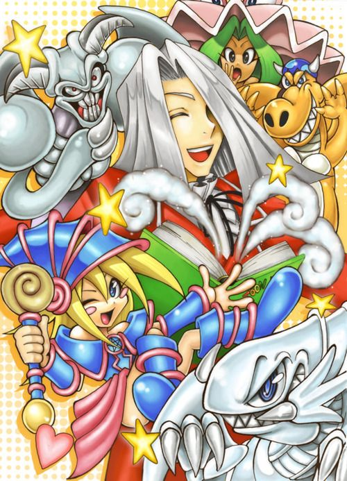 Maximilian Pegasus and his toon monsters! I absolutely love this. <3 <3 <3 <3 <3