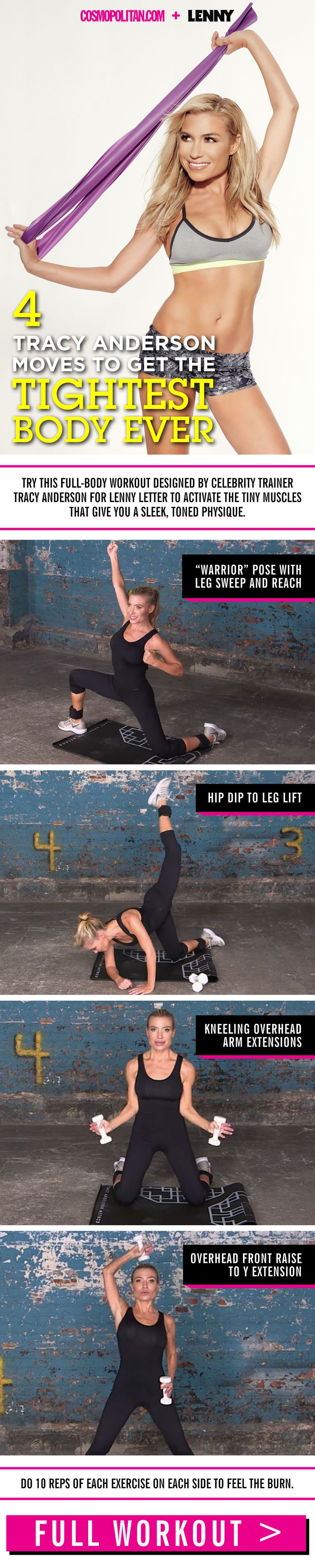 4 Tracy Anderson Moves to Get the Tightest Body Ever  - Cosmopolitan.com