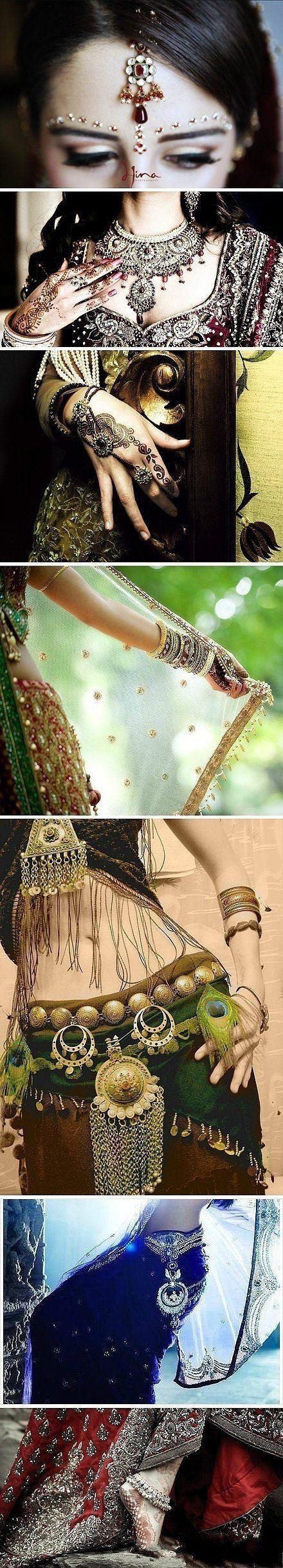 "Indian Bride: Details ""(More surprise, just join us on http://zzkko.com/?surprise)"""