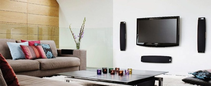 Looking to add a flat screen to your living room? | Home Theater Inspiration | Pinterest ...