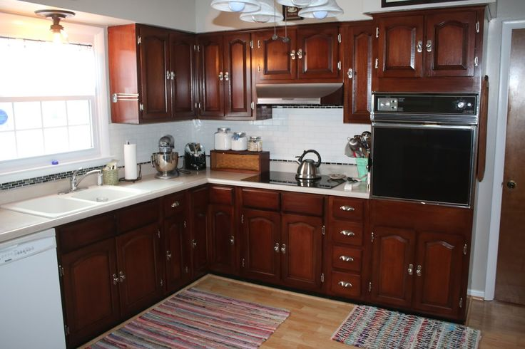cheap ways to redo kitchen cabinets general finishes georgian cherry gel stain project this 13467