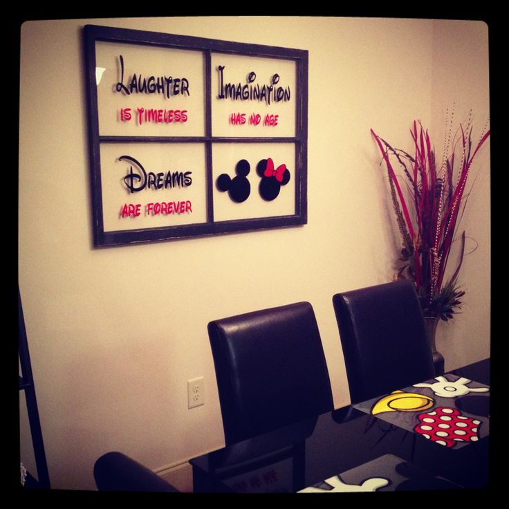 "My one-of-a-kind Disney decor. LOVE.  Come on over to my private Facebook group ""Younique with Christy xo"" to learn about awesome products and possibly win some Disney prizes!"