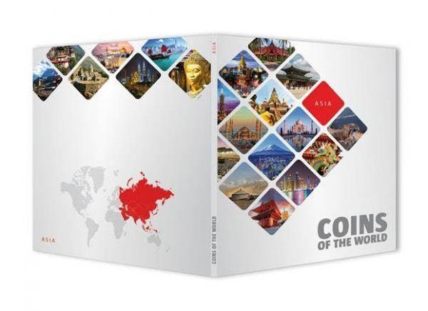 Μικροί Συλλέκτες:Ταξιδεύω στην Ασία με 51 Νομίσματα!!η Συλλογή περιλαμβάνει 51 επίλεκτα νομίσματα νομίμου κυκλοφορίας από ισάριθμες χώρες που θα φτάσουν στα χέρια σας κατευθείαν από τις Κεντρικές Τράπεζες των κρατών, ακυκλοφόρητα! Η εκθαμβωτική ποικιλία τους σε συνδυασμό με την άριστη ποιότητά τους συνθέτουν έναν μοναδικό νομισματικό θησαυρό που θα ήταν αδύνατον να αποκτήσετε με άλλον τρόπο. Αυτό που θα καθιστά τη συγκεκριμένη συλλογή μοναδική στο είδος της είναι το εκπληκτικό της Εκθετήριο