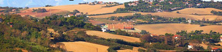 Ancona, Marche, Italy - Marche countryside 4 by Gianni Del Bufalo CC BY-NC-SA    STA_9523-27_stitch Torrette