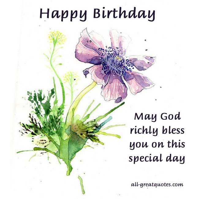 143 Best Images About Birthday Card On Pinterest Happy Happy Birthday May God Fulfill All Your Wishes