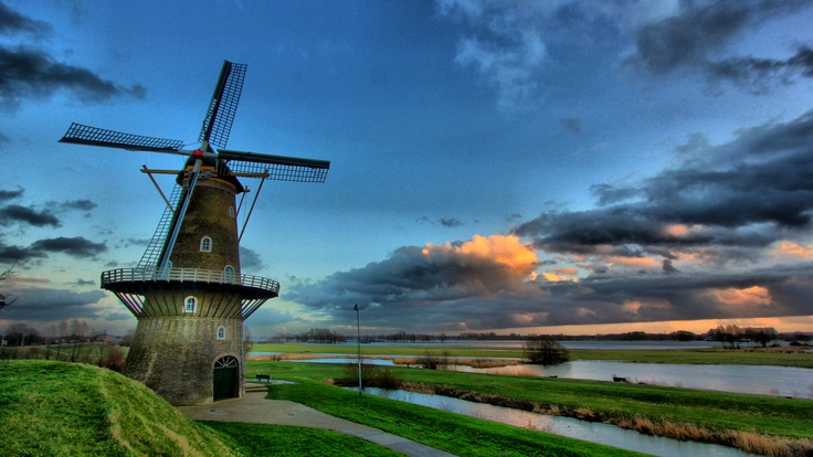 """De Hoop"" - Dutch Windmill, Gorinchem"