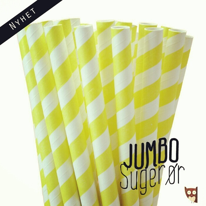 http://partydesign.no #jumbo #sugerør #papirsugerør #partydesign #paperstraws