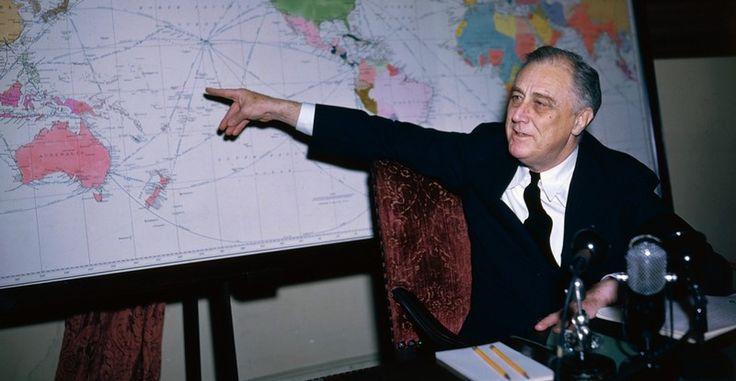 Франклин Рузвельт, 1942 год