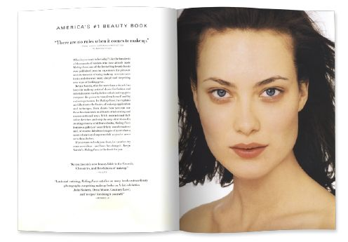 Shalom Harlow in Kevyn Aucoin's Making Faces