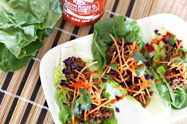 Food Friday | Aziatische sla wraps
