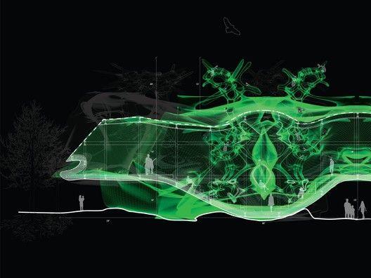 Student Digital-Mixed, Mane Nalbandyan. Image via Ken Roberts Memorial Delineation Competition