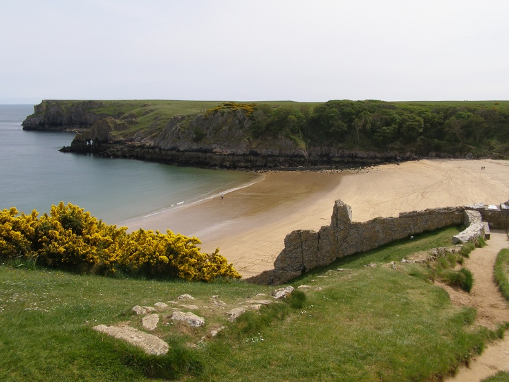 Barrafundle Bay, Pembrokeshire - one of my favourite places in the UK