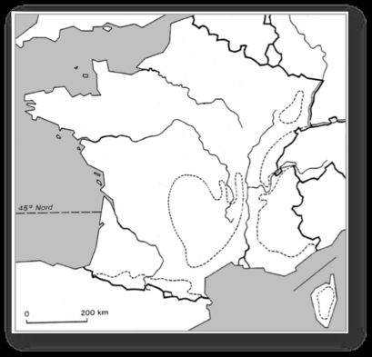 Carte de France vierge | Carte france vierge, Carte de france et France