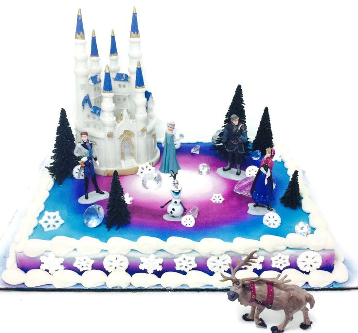 Frozen Cake Decoration Images : 24 best images about Frozen Birthday Party on Pinterest Frozen birthday cake, Disney frozen ...