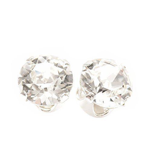 925 boucles d'oreilles argent à la main avec des cristaux de SWAROVSKI®.: Tweet 925 boucles d'oreilles argent à la main avec des cristaux…