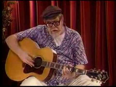 """▶ """"Green Green Rocky Road"""" taught by Dave Van Ronk - YouTube"""