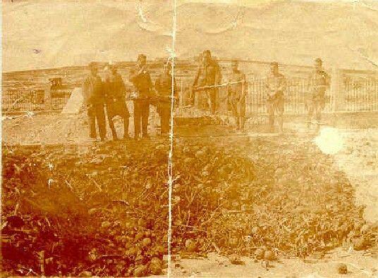2.996 cráneos encontrados 4 años después del desastre en Monte Arruit