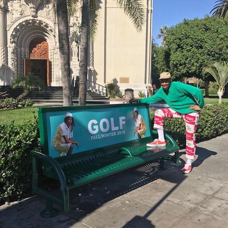 pinterest // @reflxctor GOLF FALL/WINTER 2016 COLLECTION POSTER BY TYLER THE CREATOR #tylerthecreator #golfwang #converse