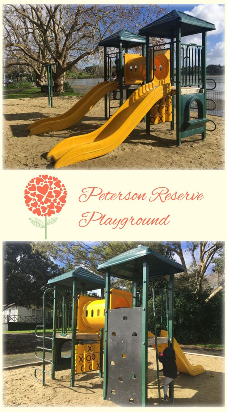Peterson Reserve Playground Auckland: Simple Fun Playground with Stunning View of Panmure Basin!