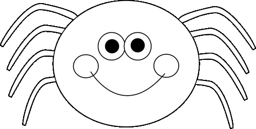 Spider clipart for kids - photo#13