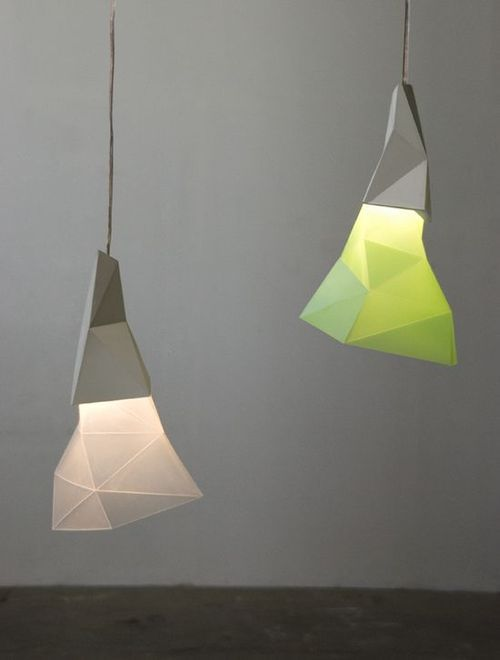 PAPERO is a mood light decorative lamp. Available in two sizes and many colour options.  MATERIAL: concrete, polipropylene