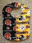 Pittsburgh Steelers Bengals Rival Baby Bib NFL House Divided | eBay