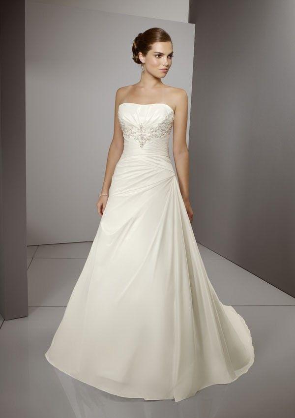 A line Princess Taffeta Wedding Dress Strapless Inexpensive356 best Wedding Dress images on Pinterest   Wedding dressses  . A Line Princess Wedding Dresses. Home Design Ideas