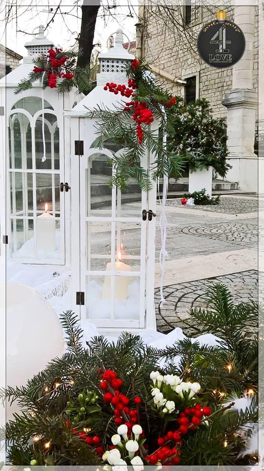 #Ανθοστολισμός και #διακόσμηση #χριστουγεννιάτικου #γάμου #4LOVEgr