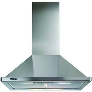 Zanussi ZHC60136X Chimney Hood Stainless Steel 600mm  $125 great reviews adjustable