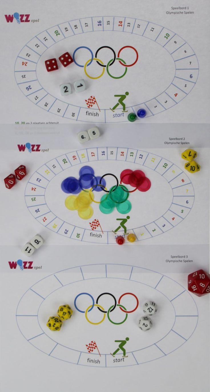 Dobbelspellen Olympische Spelen Lesidee